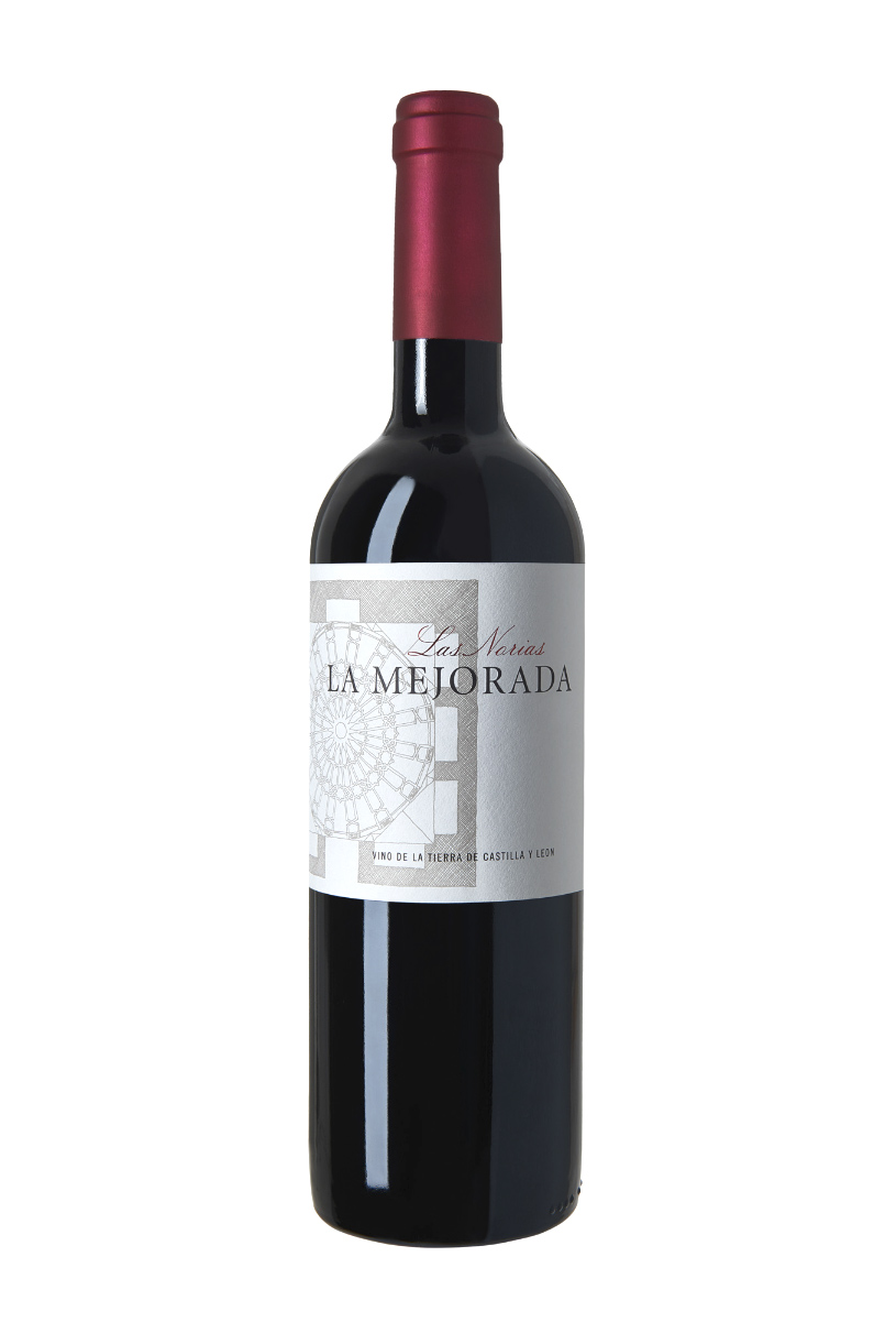 Botella Las Norias Bodega Valladolid La Mejorada