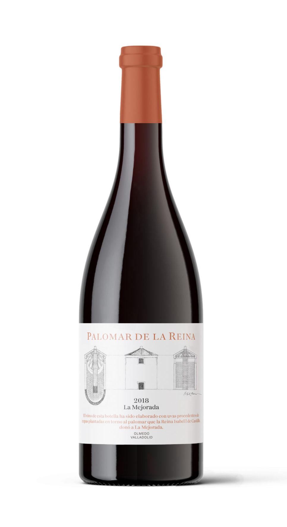 Botella El Palomar de la Reina_F